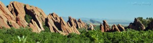 Rock formations at Roxborough State Park
