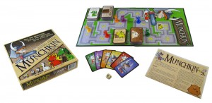 Munchkin game components