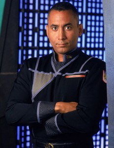 Richard Biggs as Dr. Stephen Franklin in Babylon 5