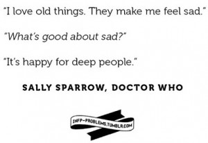 dr who sparrow quote