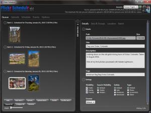 Flickr Schedulr screenshot