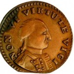 Non Vi Virtute Vice coin