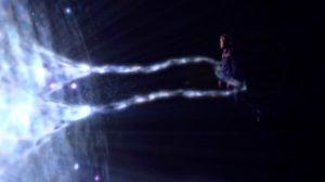 Babylon 5: Sheridan and Lorien in his true form