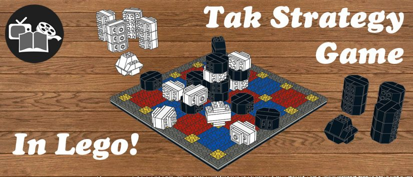 Tak Strategy Game in Lego!
