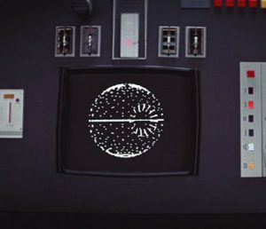 Death Star Plans on Screen