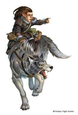 Re-skin de los personajes Halfling-druid
